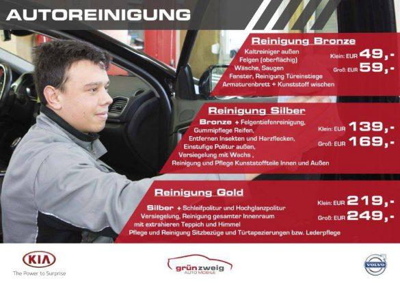 Pflegeangebote für Ihr Fahrzeug