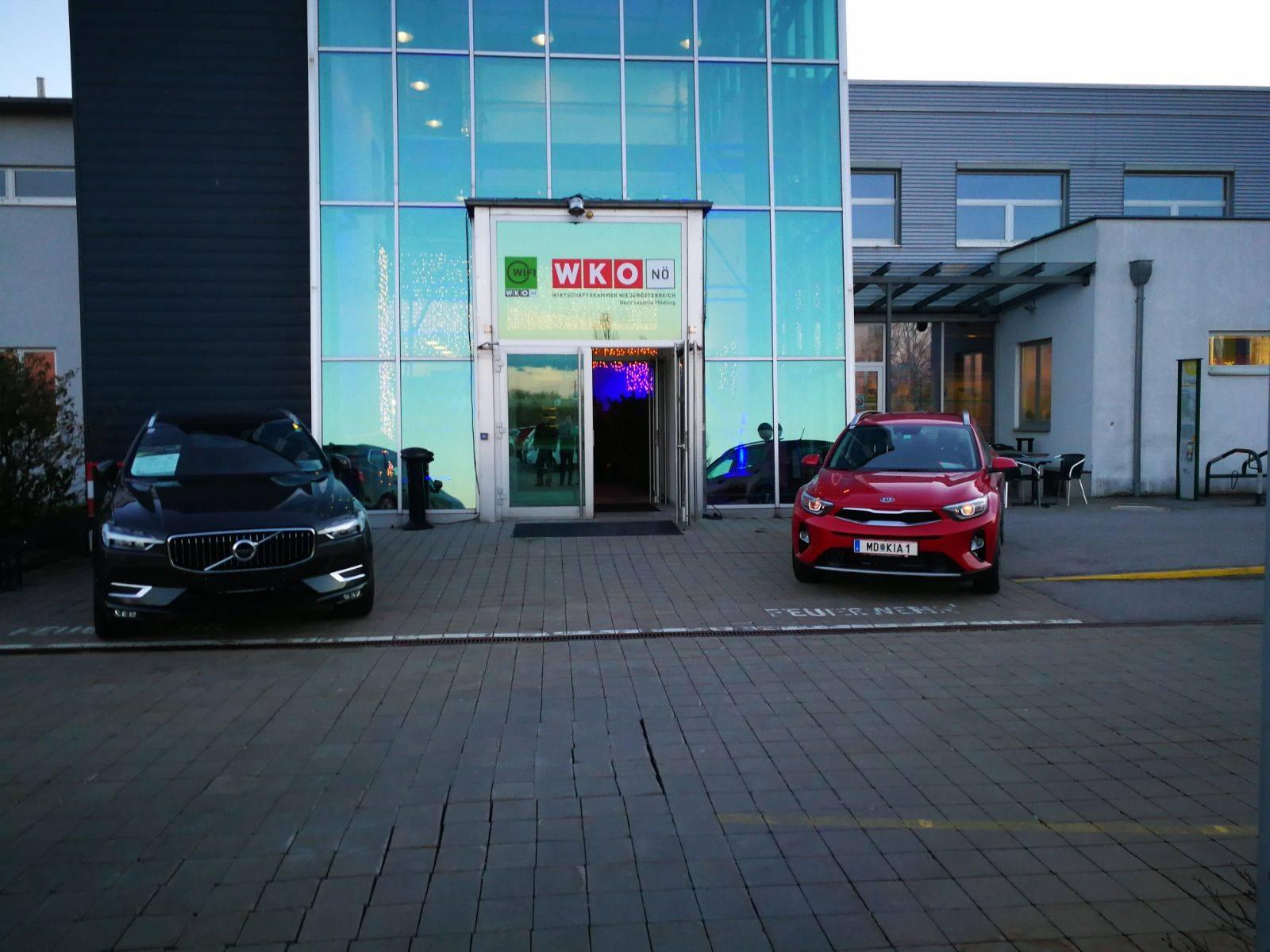 Volvo und KIA am Ball der Mödlinger Wirtschaft 20.01.2018