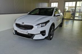 KIA Xceed 1,6 CRDI SCR Silber DCT Aut. bei Grünzweig Automobil GmbH in