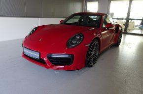 Porsche 911 Carrera Turbo 991.2 bei Grünzweig Automobil GmbH in