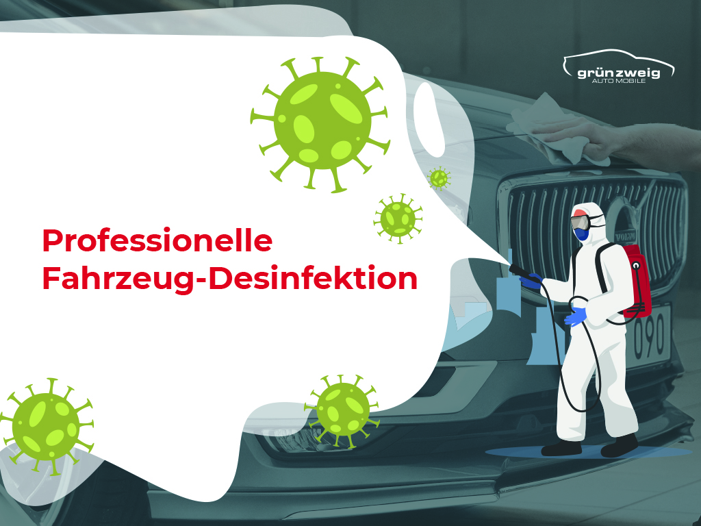 Fahrzeug-Desinfektion
