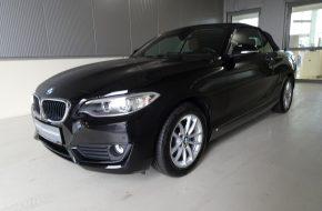 BMW 218i Cabrio Advantage Aut. bei Grünzweig Automobil GmbH in