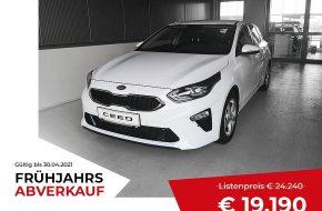 KIA ceed 1,4 TGDI Silber bei Grünzweig Automobil GmbH in