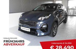 KIA Sportage 1,6 CRDI SCR MHD Silber DCT Aut. bei Grünzweig Automobil GmbH in