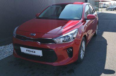 KIA Rio 1,25 MPI Limited ISG bei Grünzweig Automobil GmbH in