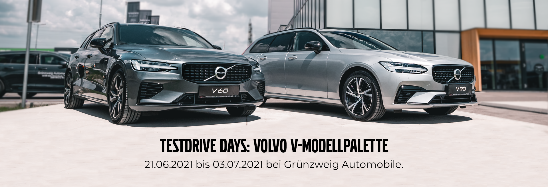 Testdrive Days bei Grünzweig Automobile