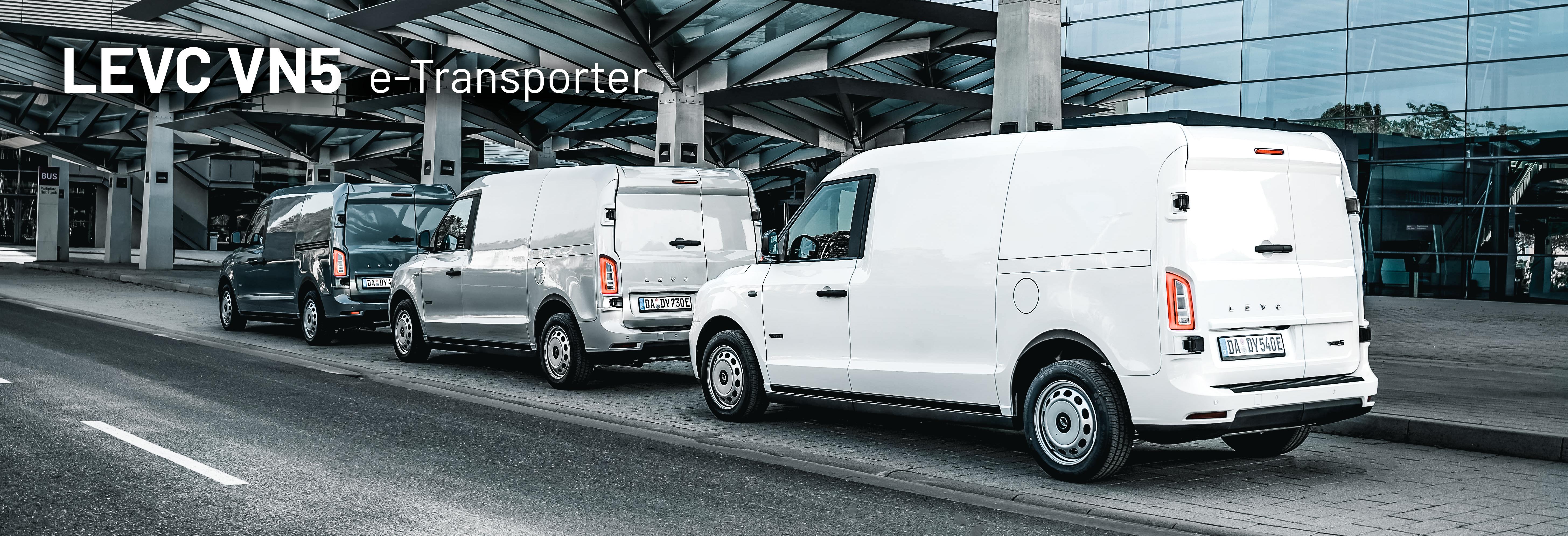 LEVC VN5 e-Transporter