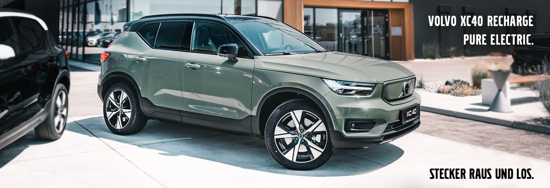 Der Volvo XC40 Recharge Pure Electric