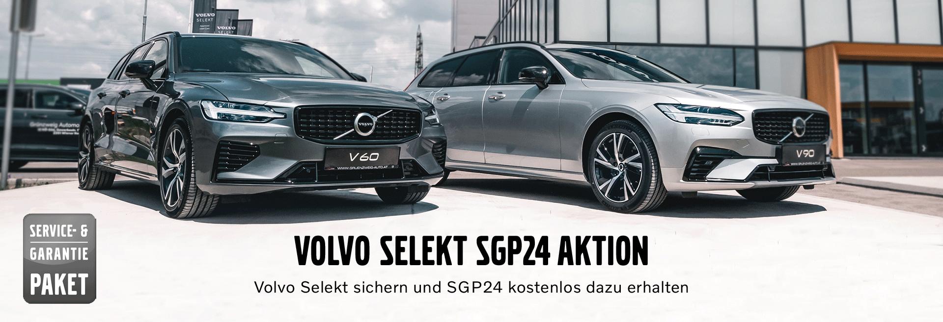 Volvo Selekt Modell Service- und Garantiepaket